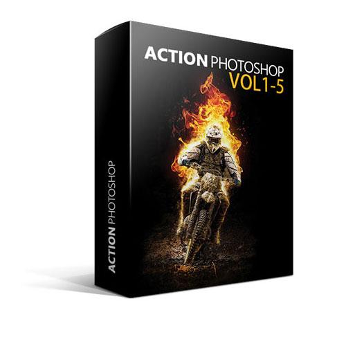 اکشن فتوشاپ - خلاقانه ترین اکشن های فتوشاپPhotoshop Action