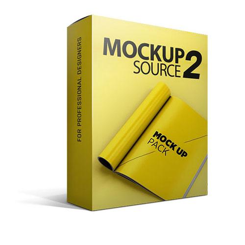 قالب های لایه باز موکاپ ول 2 MockupSource-2 mockup