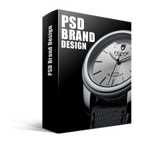 PSD Brand Design تبلیغات تجاری لایه باز