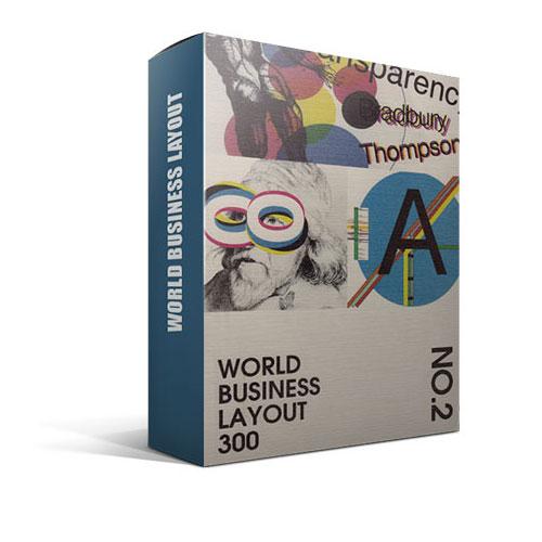 WORLD BUSINESS LAYOUT 300، تمپلیت های طراحی کاتالوگ - 1